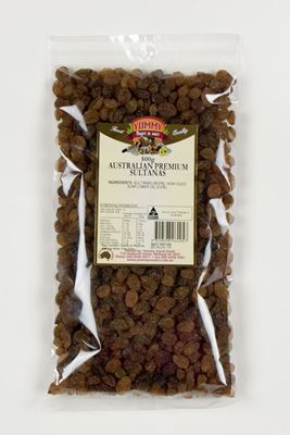 Picture of YUMMY SNACKS SULTANAS  AUSTRALIAN 500G