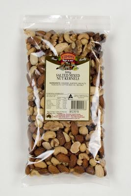 Picture of MIXED NUT KERNALS SALTED 500G
