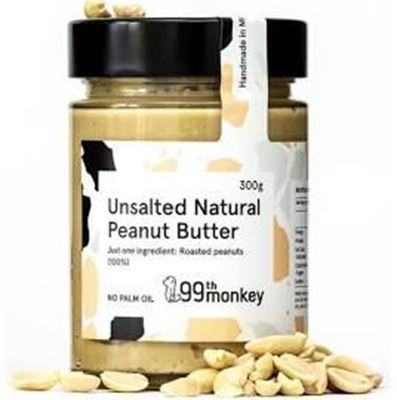 Picture of 99th NATURAL UNSALT PEANUT BUTTER 300G