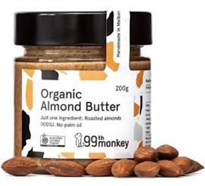 Picture of 99th ORGANIC ALMOND BUTTER 200G