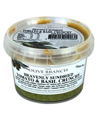 Picture of TOB HEAVENLY SUNDRIED TOM & BASIL CRUNCHY 250GX12